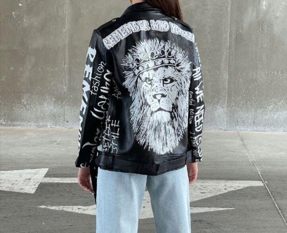 Кожаная куртка(Новая)