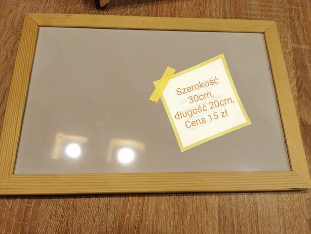 Tablica suchościeralna 20x30 cm dwustronna