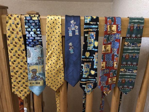 Krawaty z misiem z misiami bajkowe