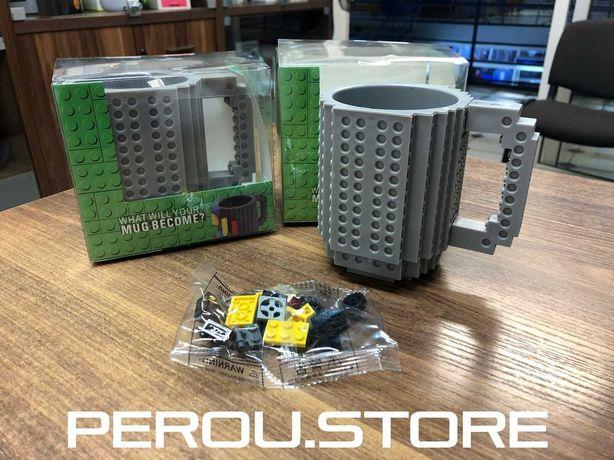 Кружка лего - чашка конструктор в стиле LEGO (350 мл)
