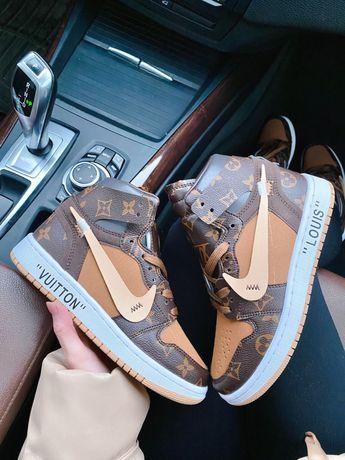 Damskie buty Nike Jordan x Louis Vuitton