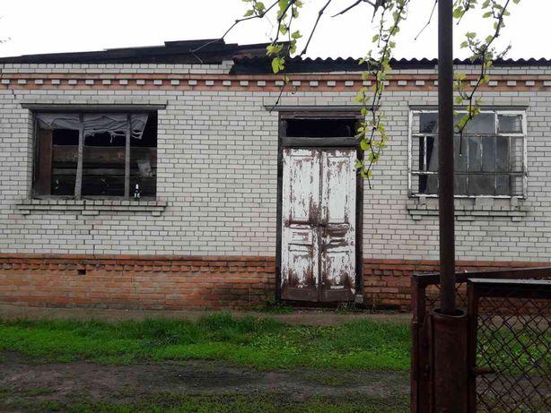 Продам участок и дом (не достроен)