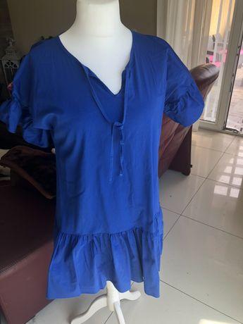 Sukienka modrakowa letnia