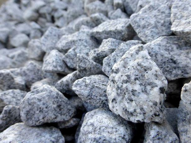 Grys Granitowy ogrodowy ozdobny kamień kostka granitowa GRANIT Ogród