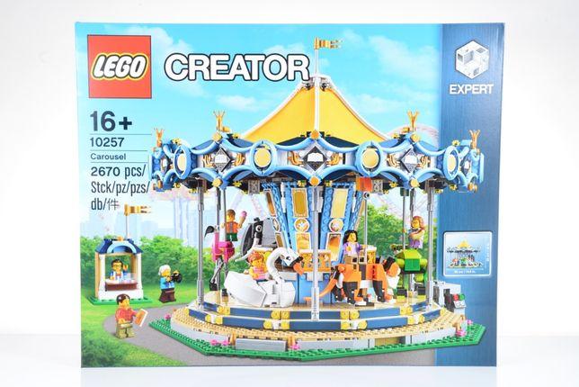Lego Creator Expert 10257 Carousel NOWY Karuzela 2017