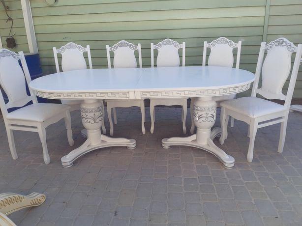 Столи дерев'яні (доставка по всей Украине), деревянный стол