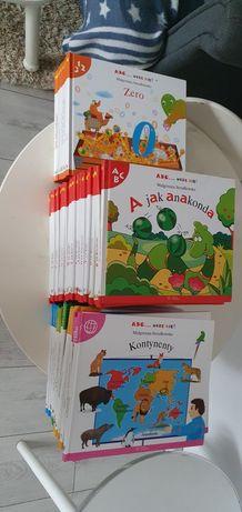 46 Książek edukacyjnych dla dzieci, alfabet, cyferki, kalendarz itp