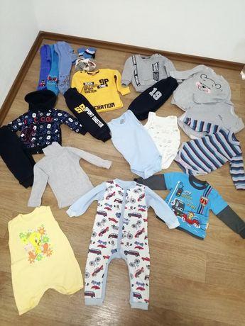 Пакет одежды для мальчика на год 80 см 12 м