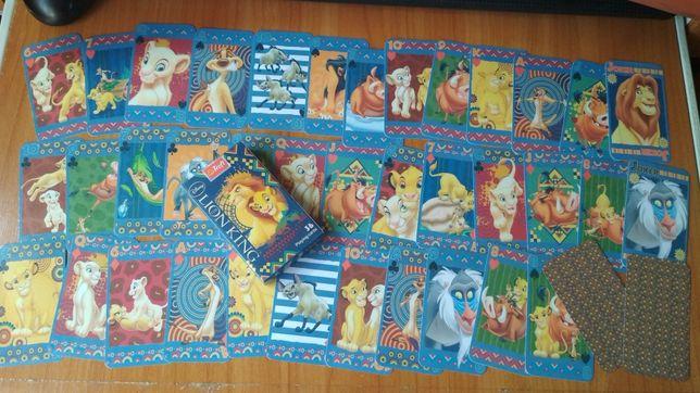 Король лев Симба игральные детские игрушки Дисней карты