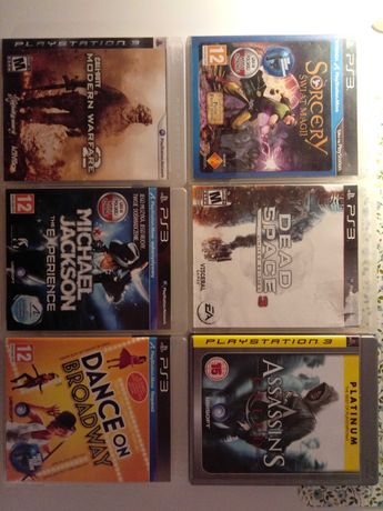 Ps3 call of duty,dead space,assasins