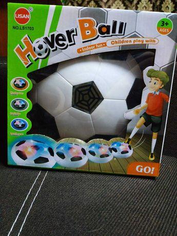 Аэро-футбольный мяч с подсветкой  воздушный для мальчика