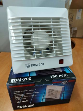 Испанский вентилятор в ванную EDM 200 S