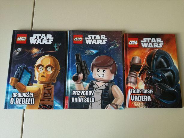 """Lego Star Wars """"Tajne misje Vadera"""", """"Opowieści o Rebelii"""", """"Han Solo"""""""