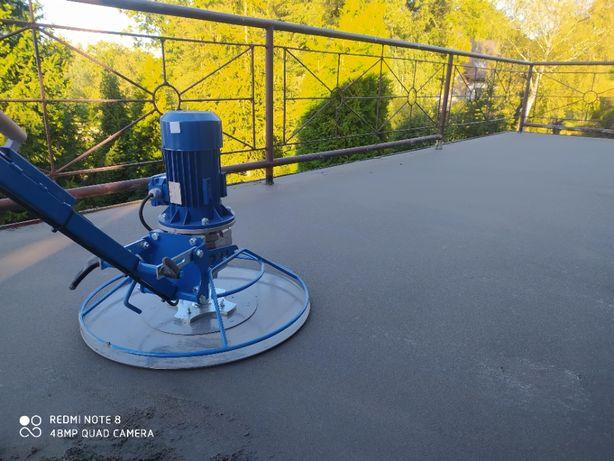 Wylewki maszynowe, betonowe. Najmocniejszy beton, małe i duże m2!
