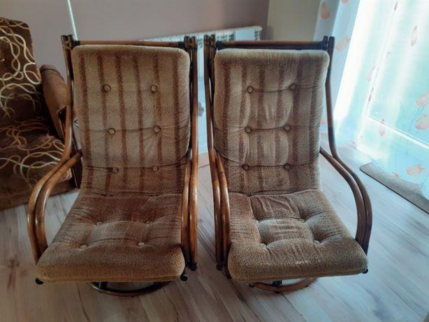 Fotele rattanowe