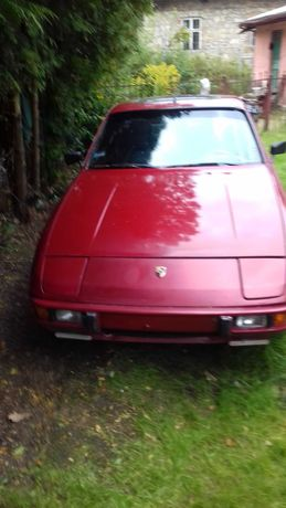 PORSCHE 924 -dwie sztuki