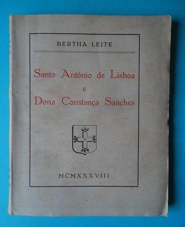 Santo António de Lisboa e Dona Constança Sanches - Bertha Leite