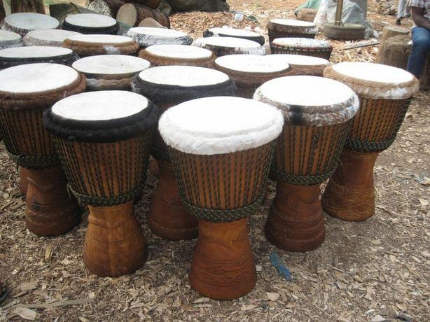 Натяжка /Ремонт джембе/ африканский барабанан, перетяжка кожи, натяжка