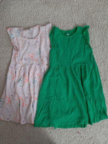 Sukienki H&M rozm. 122-128