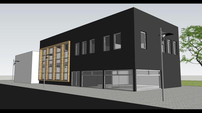 Budynek magazynowy z pozwoleniem na rozbudowę