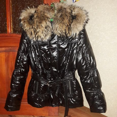 зимняя куртка пальто пуховик размер М 42/44