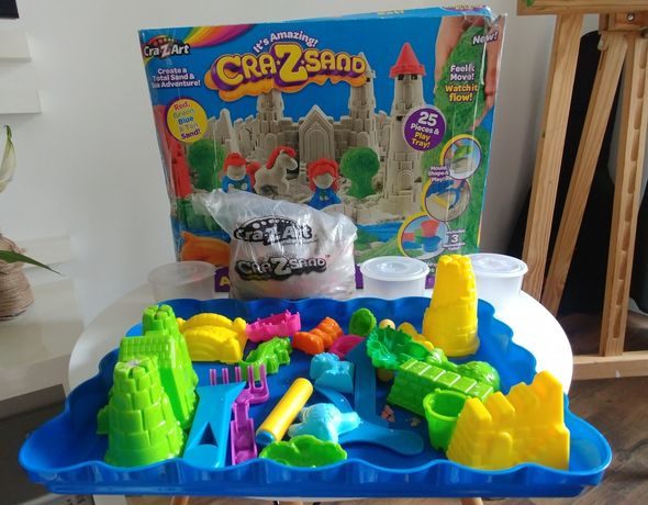 Magiczny piasek zamek