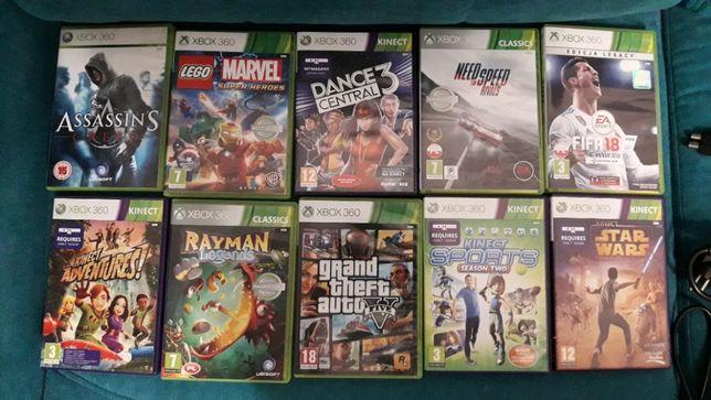 Gry Xbox 360 10 szt.
