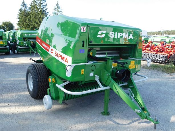 Prasa rolująca Sipma 1221 Farma Plus siatka smarowanie WOM WYPRZEDAŻ!