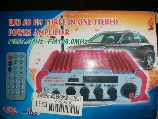 Amplificador de karaoke 20w por 20w.