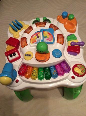 Музыкальный игровой столик Weina c 9 месяцев