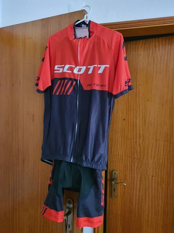 Vendo equipamento scott btt (novo)