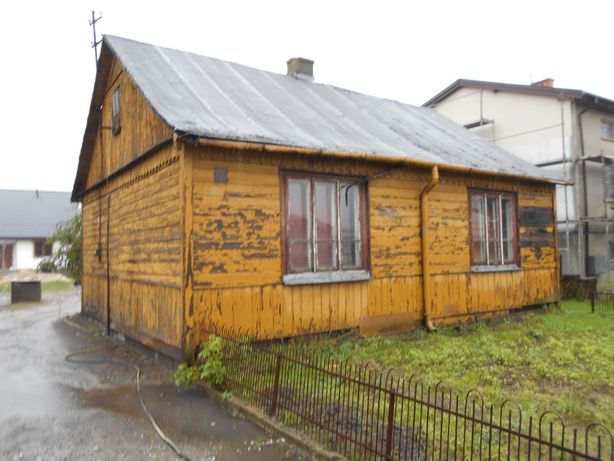 Oddam dom drewniany do rozbiórki lub przeniesienia