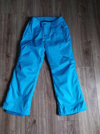 Spodnie Burton snowboardowe snowboard błękitne damskie dziecięce s L
