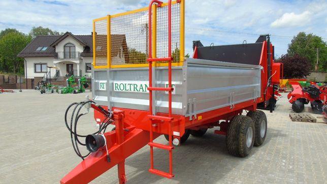Rozrzutnik ROLTRANS, ładowność 6 t poziome wałki NOWY 2021