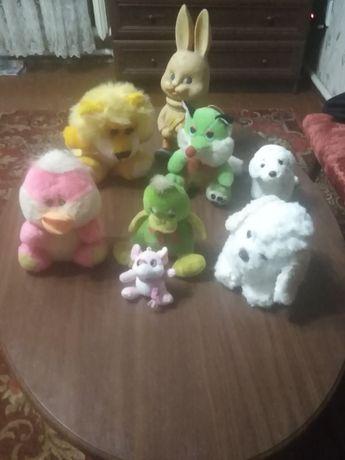 Продам детские мягкие игрушки