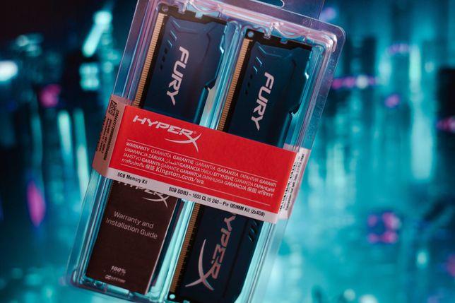 Kingston HyperX DDR3 8GB (2x4Gb) 1600Mhz для Intel (Игровая/Gaming)