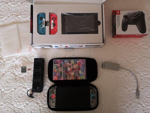 Nintendo Switch Néon (ler descrição)