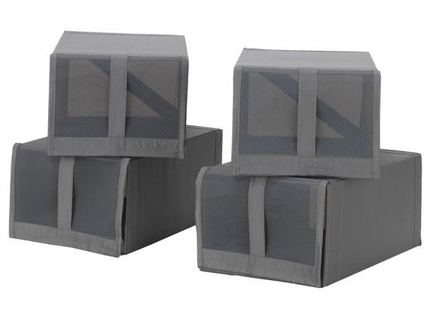 Sapateira portátil negra IKEA