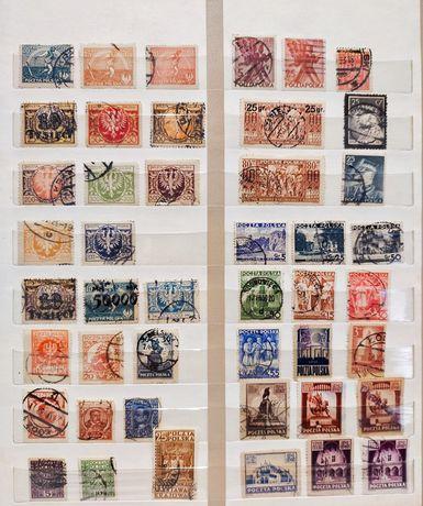 Klaser w tym 6 stron znaczków Polska 20-60 A4 40 stron/8 linii