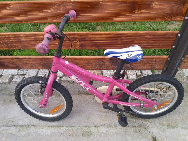 Rowerek dzieciecy rozowy dla dziewczynki cena na weekend