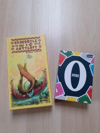 Gry: Krokodyle i antylopy / Zero