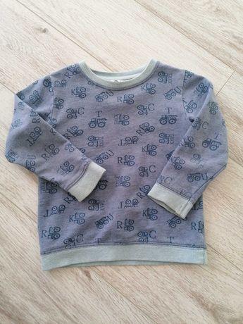 Bluza chłopięca na 2-3 latka autka wiosna