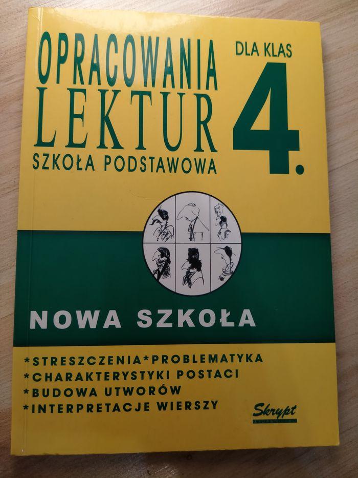 Opracowania lektur szkoła podstawowa dla klas 4 Gdańsk - image 1
