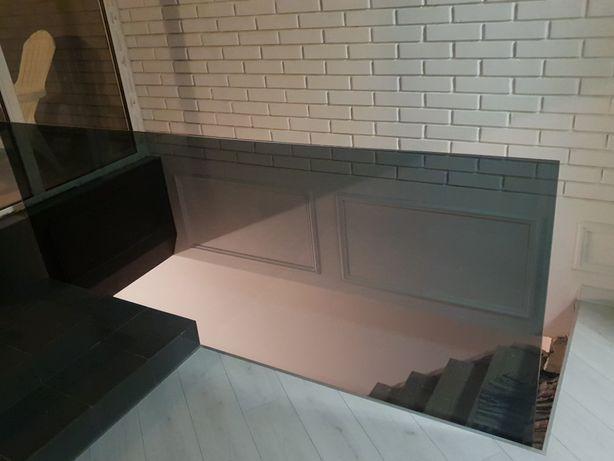 Стеклянные перила, стеклянные двери, перегородки из стекла