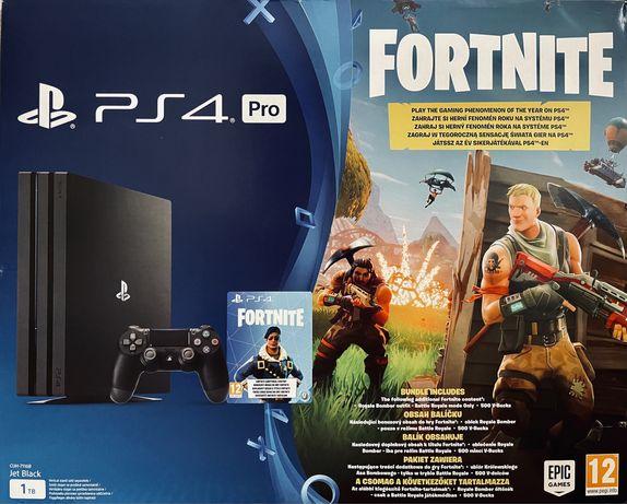 PlayStation 4 Pro PS4 Jet Black 1TB CUH-7116B Fortnite Edition