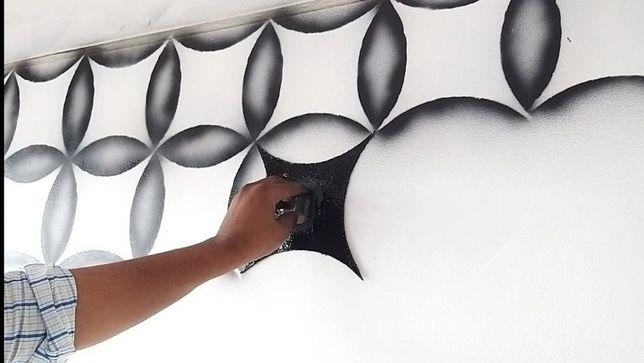 Дизайн помещений, кафе, барельеф стен.