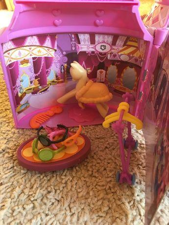 Domek salon Rarity zestaw dla kucyków My Little Pony Hasbro akcesori