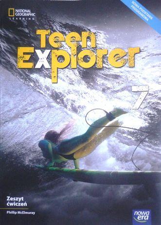 Teen Explorer 7 zeszyt ćwiczeń