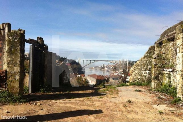 Terreno com vista Rio Douro.