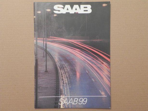 Prospekt - SAAB 99 - 1982 r